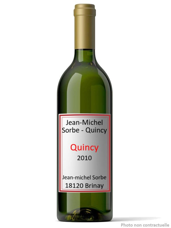 Jean-Michel Sorbe - Quincy 2010